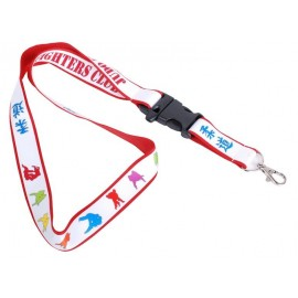 Lanyard Fighters Club Red