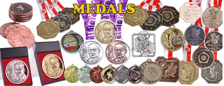judo medals