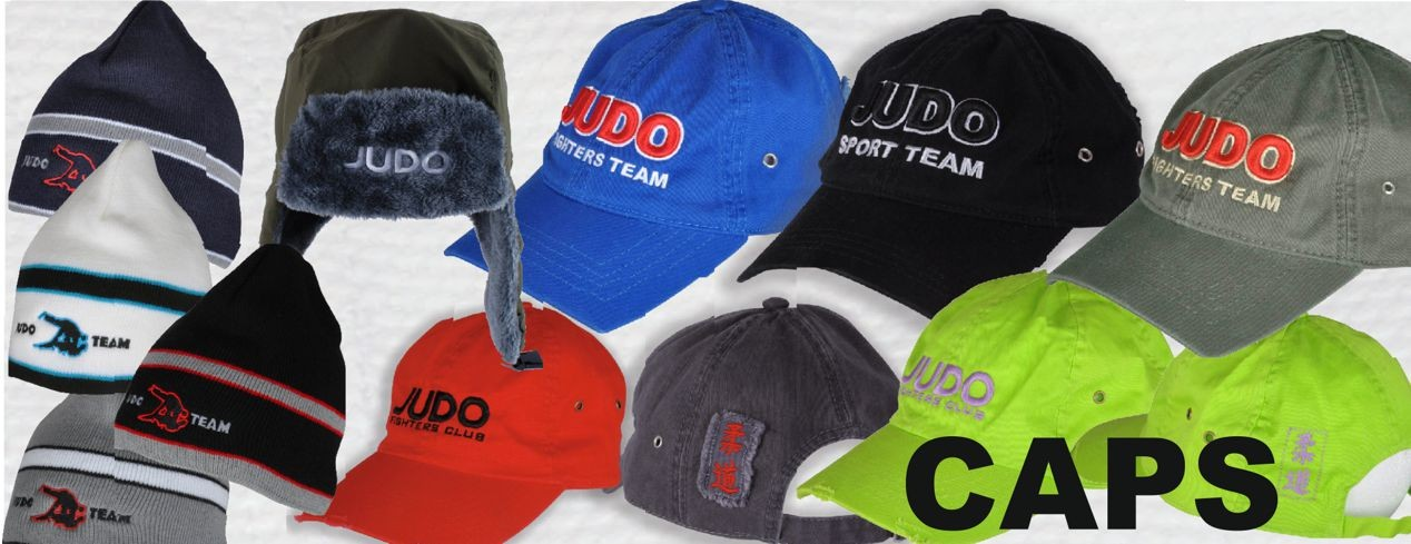 judo caps and hats